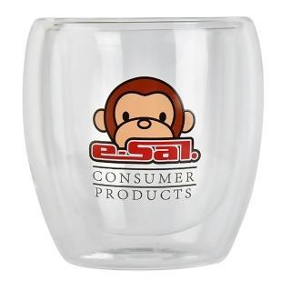 【e-sal】雙層玻璃杯-2盒