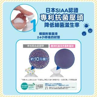 【LION 獅王】趣淨抗菌洗手慕斯超值組-柑橘/果香1+2瓶組(250mlx1+800mlx2)