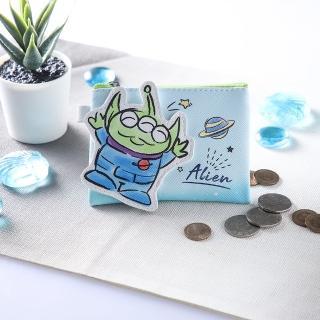 (7/30補貨)【Disney 迪士尼】立體造型零錢包(三眼怪)