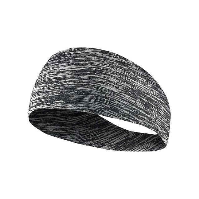 【Jo Go Wu】透氣排汗運動頭巾1入組(髮帶 運動頭帶 運動髮帶 吸汗頭帶 束髮帶 運動止汗帶)