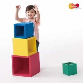 【Weplay】疊疊樂積木(彩色大塊軟質建構積木)