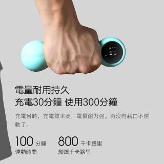 【LOTUS】Move It Beat智能啞鈴0.5KG(買再送一年VIP課程+皮拉提斯帶或運動髮帶)