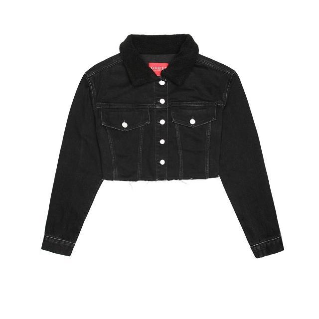 【GUESS】男女裝-經典單寧牛仔外套(多款任選)