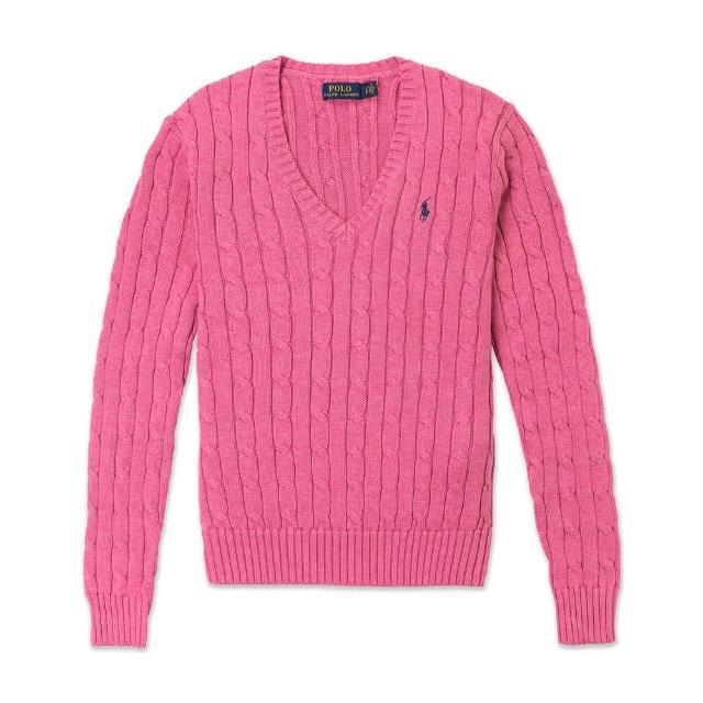 【RALPH LAUREN】雙11獨家特談 Polo Ralph Lauren 年度熱銷經典刺繡小馬麻花針織毛衣-多色組合(平輸品)