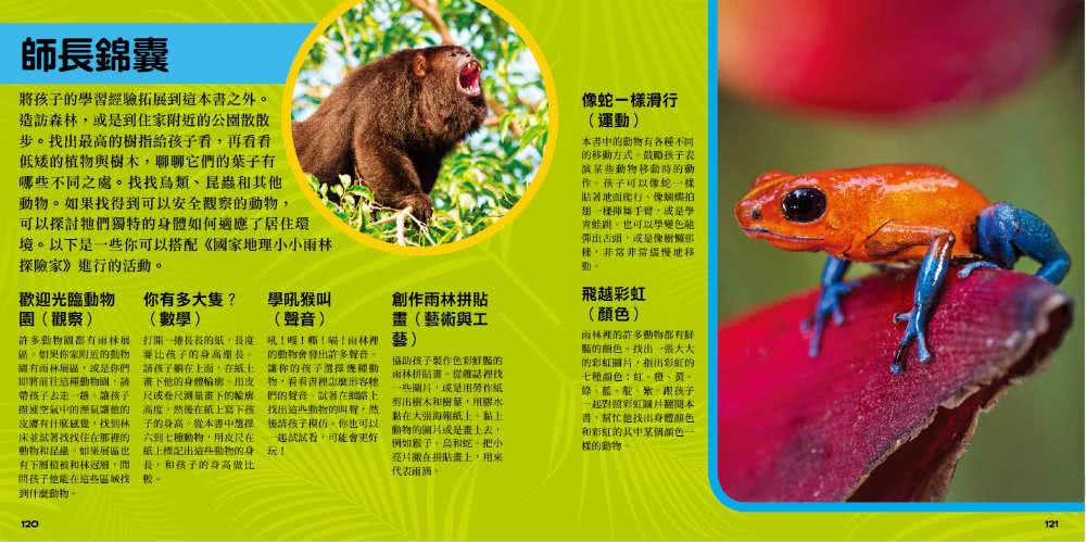 國家地理小小雨林探險家