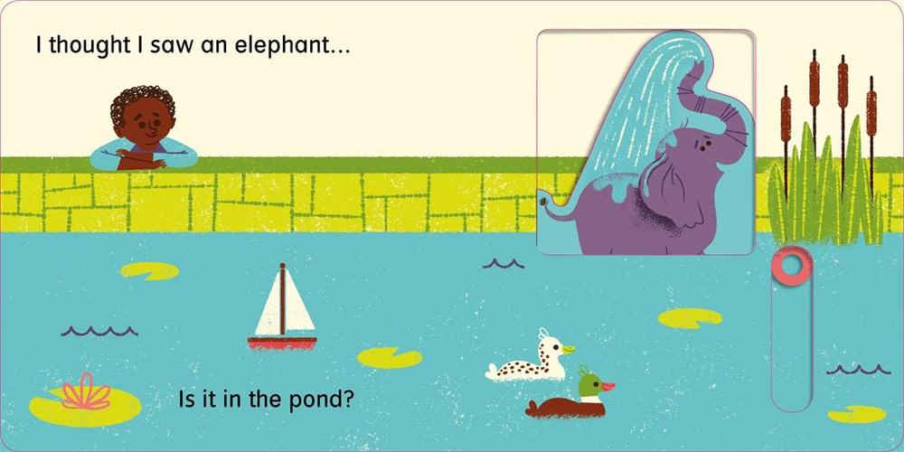 【麥克兒童外文】I Thought I Saw Elephant