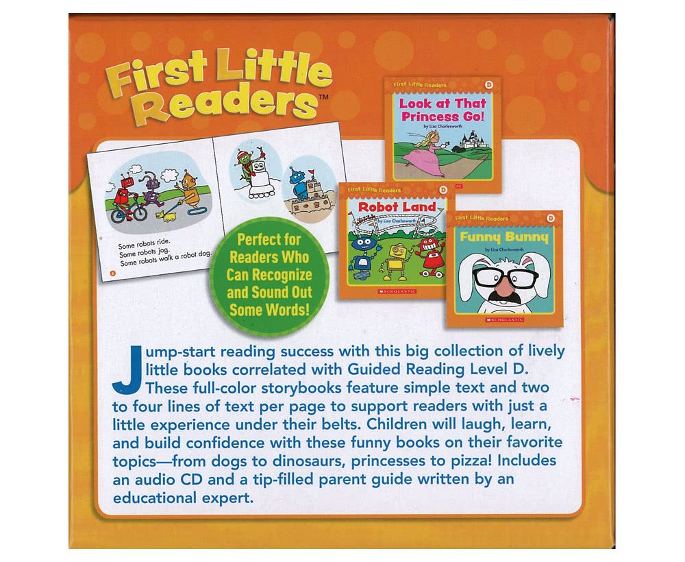 First Little Readers Level D (25書+1CD)